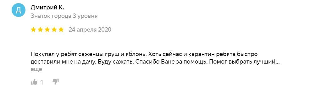 Дмитрий отзыв